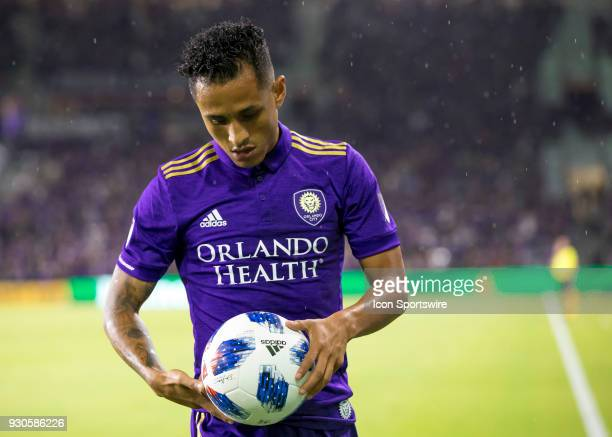 Orlando City defender Yoshimar Yotun during the MLS Soccer match between Orlando City SC and Minnesota United FC on March 10th 2018 at Orlando City...
