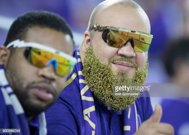 Orlando City fans during the MLS Soccer match between Orlando City SC and Minnesota United FC on March 10th 2018 at Orlando City Stadium in Orlando FL