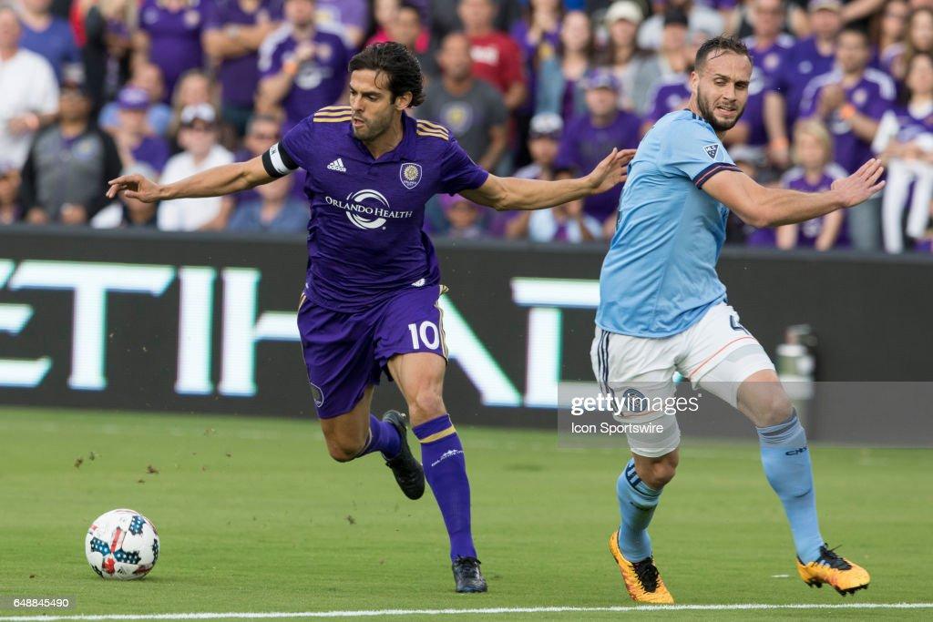 SOCCER: MAR 05 MLS - NY City FC at Orlando City SC : Foto di attualità