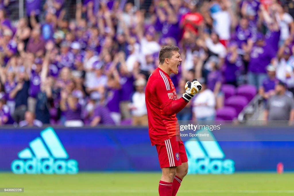 SOCCER: APR 08 MLS - Portland Timbers at Orlando City SC : News Photo