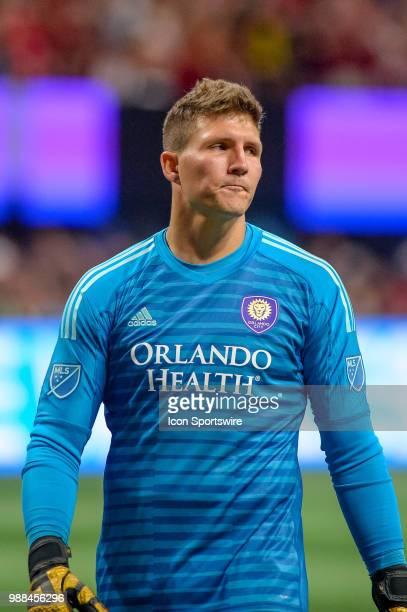 quality design 05f6c 1eb89 Orlando City Fc Goalkeeper Joseph Bendik 1 Premium Pictures ...
