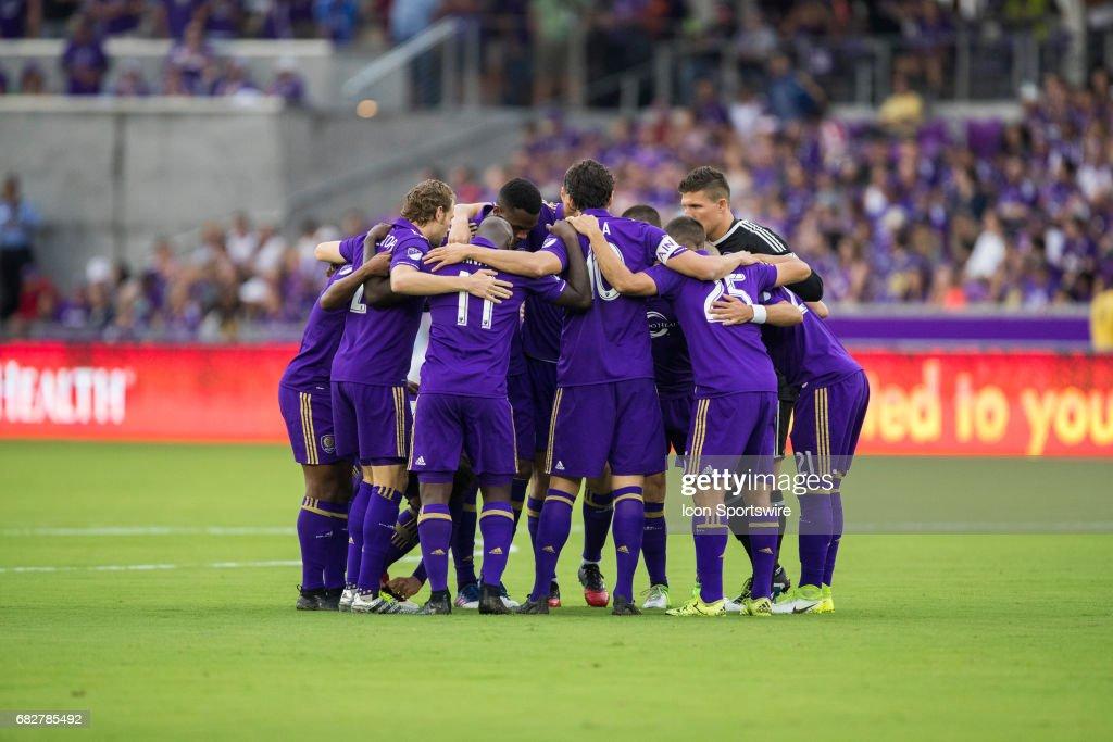 SOCCER: MAY 13 MLS - Sporting KC at Orlando City SC : News Photo