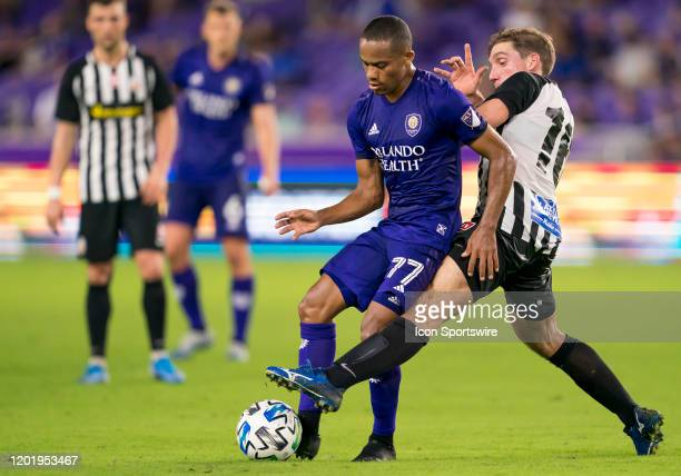 Orlando City midfielder Robinho during the MLS Preseason soccer match between the Orlando City SC and KR Reykjavik on February 18 at Explorer Stadium...