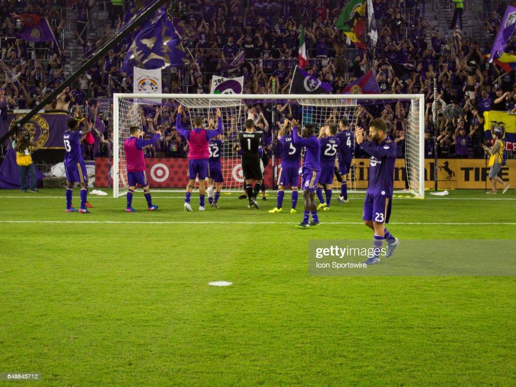 SOCCER: MAR 05 MLS - NY City FC at Orlando City SC : News Photo