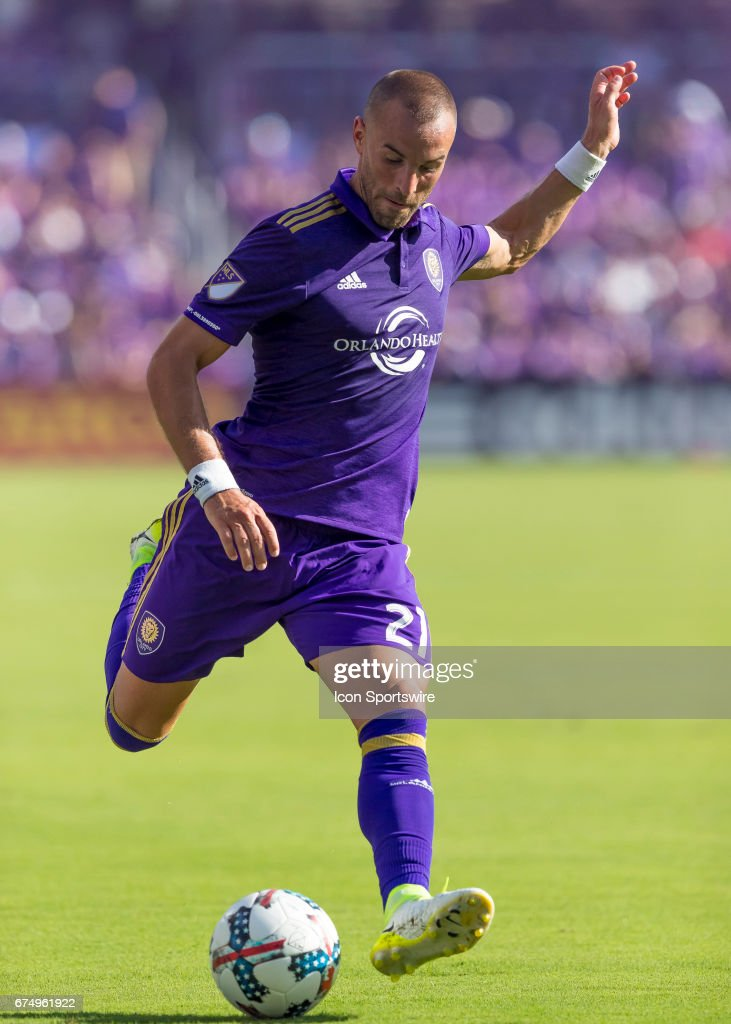 SOCCER: APR 29 MLS - Colorado Rapids at Orlando City SC : Fotografia de notícias