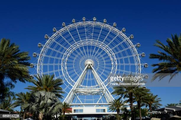 orlando eye ferris wheel in orlando, florida - file:orlando stock pictures, royalty-free photos & images