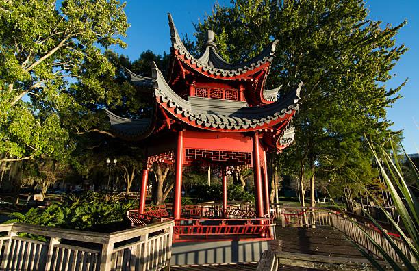 orlando florida lake eola chinese pagoda pictures getty images