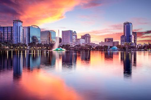 Orlando, Florida Skyline 538010989