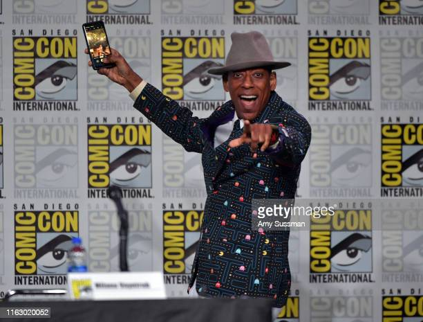 """Orlando Jones speaks at SYFY WIRE's """"It Came From The 90s"""" during 2019 Comic-Con International at San Diego Convention Center on July 19, 2019 in San..."""