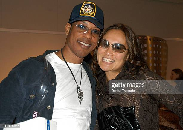 Orlando Jones Tia Carrere during 2003 Spike TV Video Game Awards Backstage Creations Gift Bags Presentation at The MGM Grand Hotel And Casino Resort...