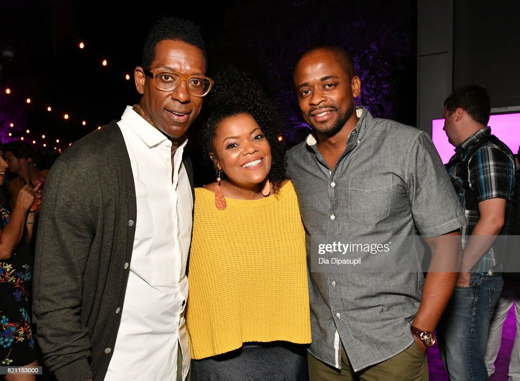 Orlando Jones, Yvette Nicole Brown and Dule Hill at Entertainment Weekly's annual Comic-Con party in celebration of Comic-Con 2017 at Float at Hard Rock Hotel San Diego on July 22, 2017 in San Diego, California.