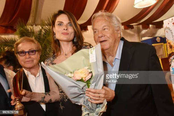 Orlando La Femme dans Le Grand Siecle 2018 awarded pianist Natalia Morosova and Massimo Gargia Attend 'La Femme Dans Le Siecle' Dinner on July 5 2018...