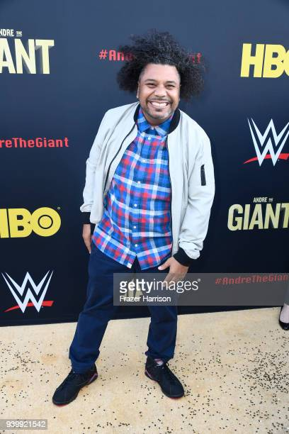 Orlando Leyba attends the Premiere Of HBO's 'Andre The Giant' at The Cinerama Dome on March 29 2018 in Los Angeles California
