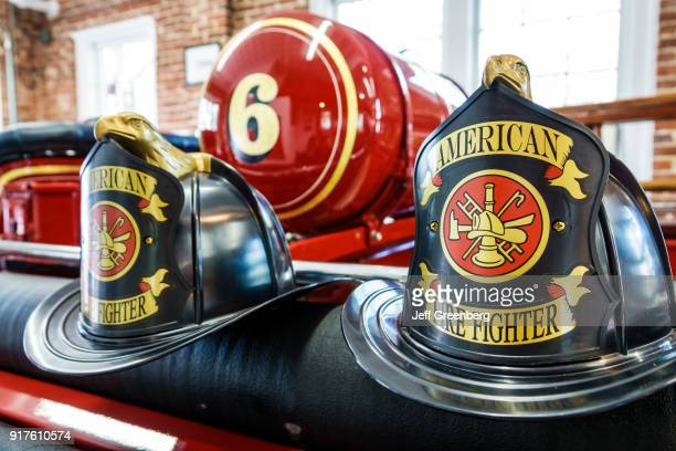 Orlando Loch Haven Park Orlando Fire Museum Helmet Display