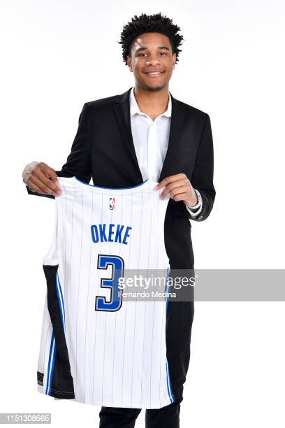 Orlando Magic first round draft pick Chuma Okeke poses for a portrait on June 21 2019 at Amway Center in Orlando Florida NOTE TO USER User expressly...