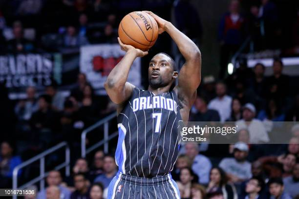 Orlando Magic guard Ben Gordon takes a jump shot during the Los Angeles Clippers 11486 victory over the Orlando Magic at the Staples Center on...