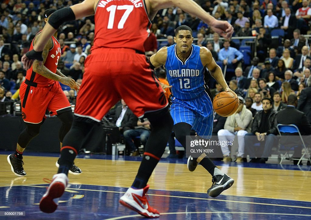BASKET-GBR-USA-NBA-ORLANDO-TORONTO : News Photo