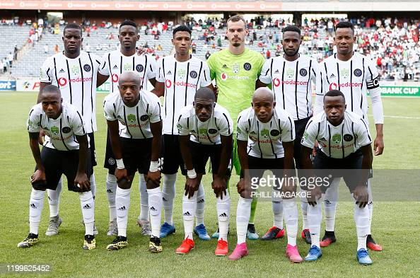 Orlando Pirates Starting Eleven Pose For A Team Photograph During News Photo Getty Images
