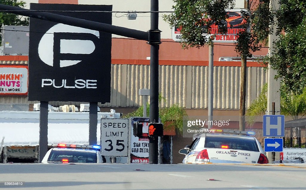 At Least 20 Dead In Mass Shooting At Orlando Gay Nightclub : News Photo