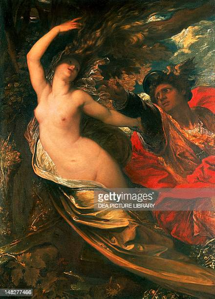 Orlando pursuing Morgan le Fay 18461848 by George Frederic Watts oil on canvas 165x210 cm Leicester New Walk Museum And Art Gall