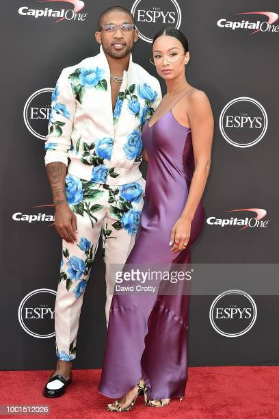 Orlando Scandrick and Draya Michele attend The 2018 ESPYS at Microsoft Theater on July 18 2018 in Los Angeles California