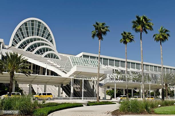 orlando's orange county convention center - orlando florida stock pictures, royalty-free photos & images