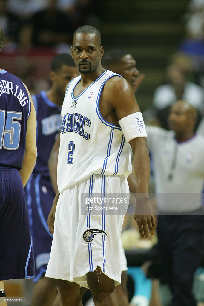 NBA Basketball 2004 - Jazz vs. Magic : News Photo