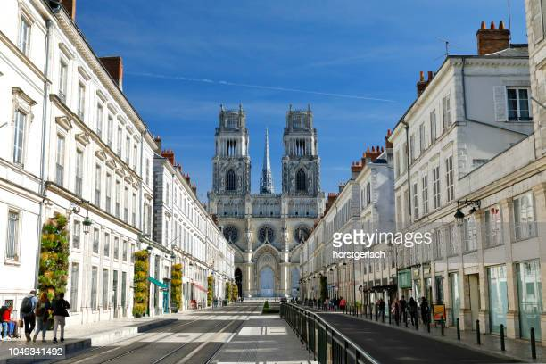 orleans cathedral, france - loire valley stock pictures, royalty-free photos & images