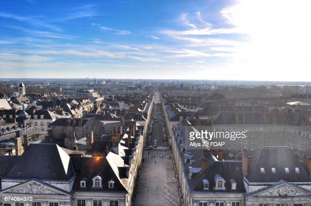 Orleans france from the ferris wheel