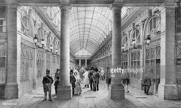 Orleans gallery. Paris, about 1835.