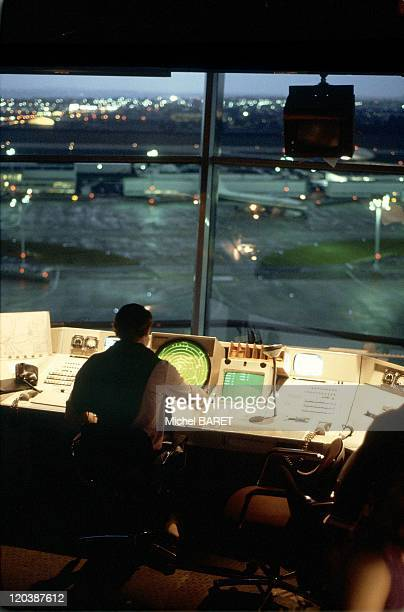 Orly France Orly Airport in the control tower
