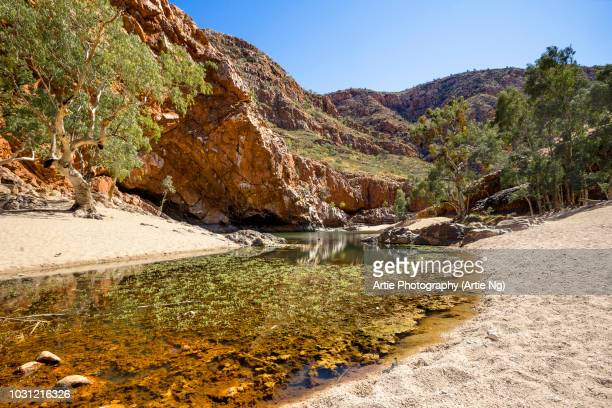 Ormiston Gorge Water Hole, Ormiston Pound, West MacDonnell Ranges, Northern Territory, Australia