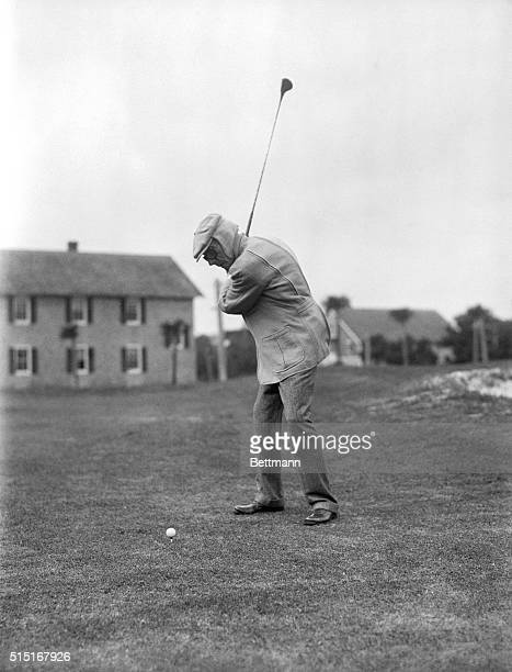 5/23/1937 Ormond Beach FL This is perhaps the most famous golfing picture ever made of the late John D Rockerfeller Sr He was then 93 The creator of...