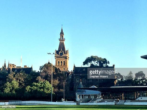 Ormond College tower Melbourne University Victoria Australia