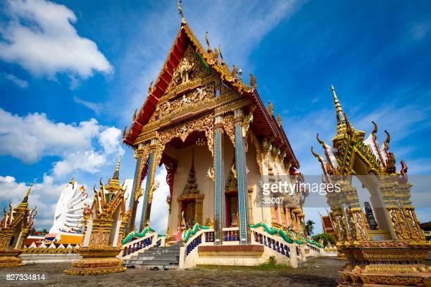 templo budista ornamentales - ko samui fotografías e imágenes de stock