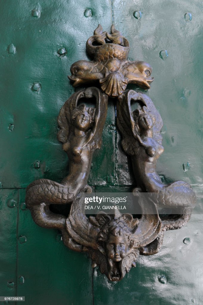 Ornamental Door Knocker, Santa Margherita Ligure : News Photo