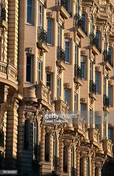 Ornamental facade of Carlton Hotel, Alpes-Maritimes region, Cannes, Provence-Alpes-Cote d'Azur, France, Europe