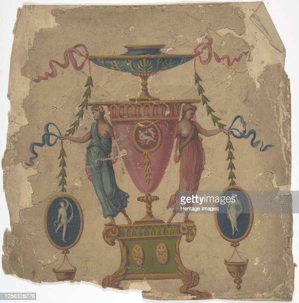 Ornamental Panel Design 18th or 19th century Artist Anon