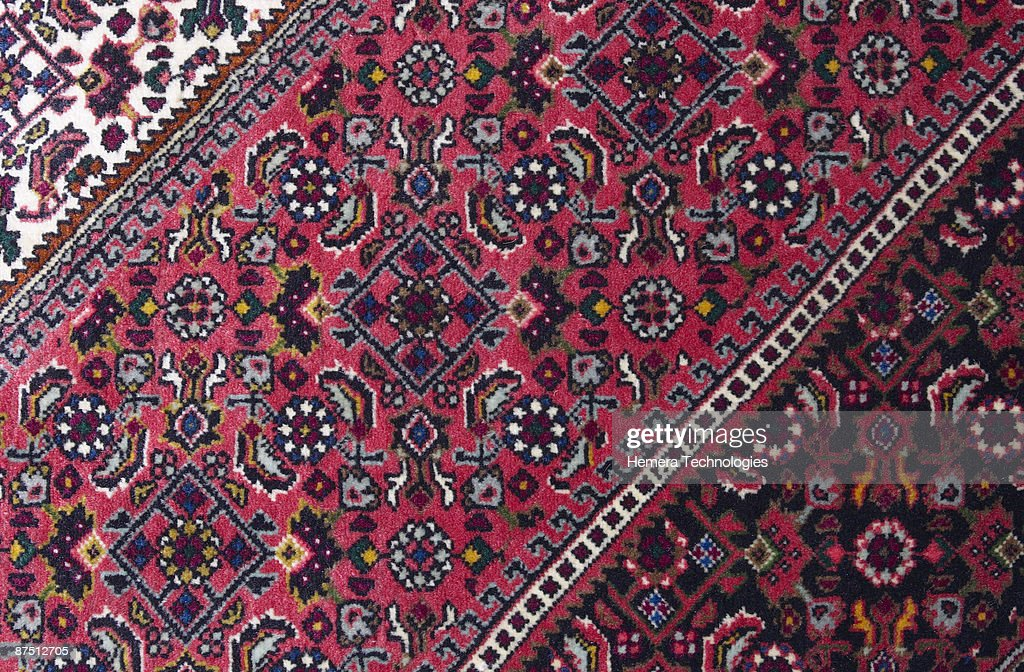 Ornamental rug : Stock Photo