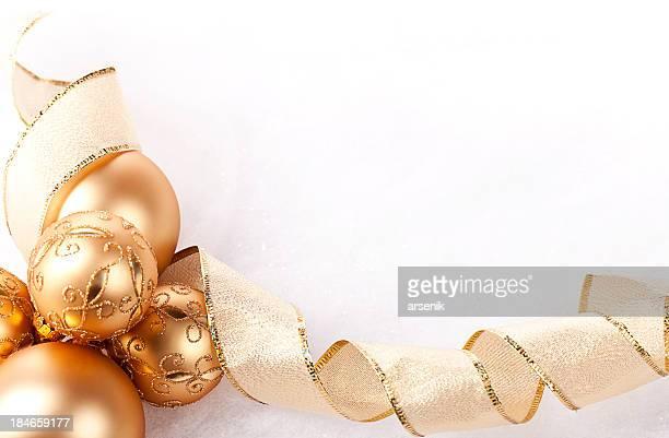 Ornaments And Ribbon