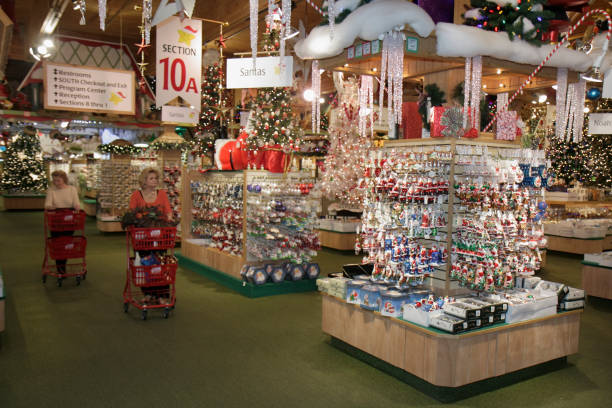 ornaments for sale at bronners christmas wonderland