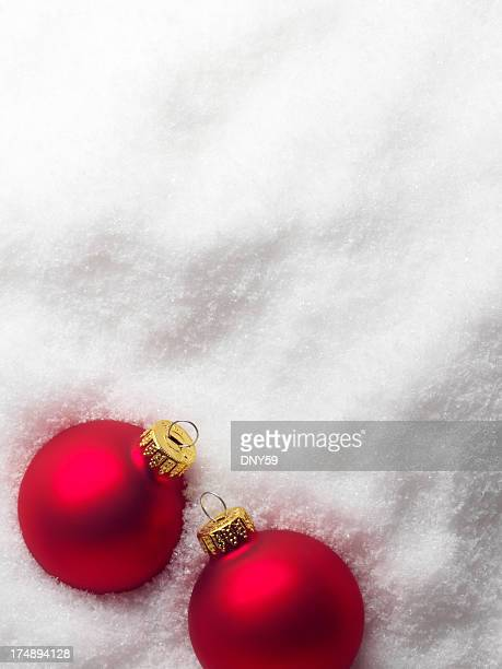 Ornaments on Snow