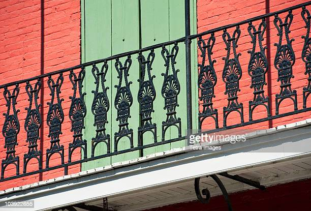 Ornate balcony