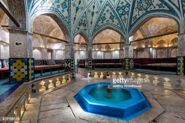 Ornate bath house