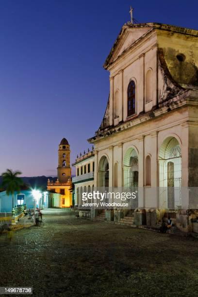 Ornate building in Plaza Principal