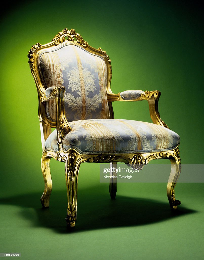 Ornate chair : Stock Photo