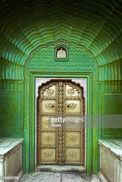 Ornate Door in India