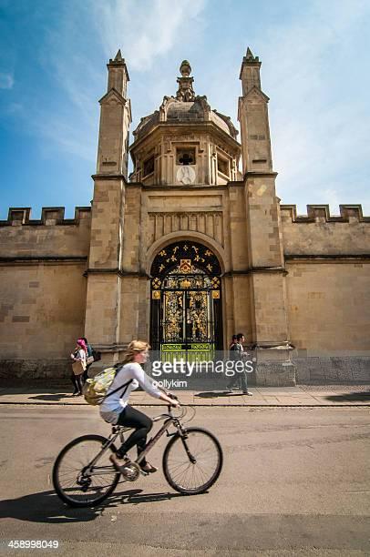 Verzierte Eingang zu All Souls College