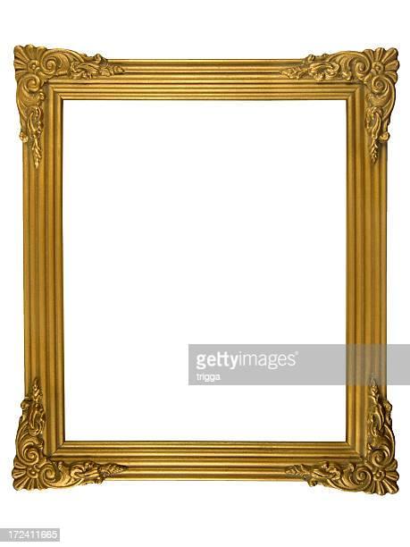 Cadre or décoratif