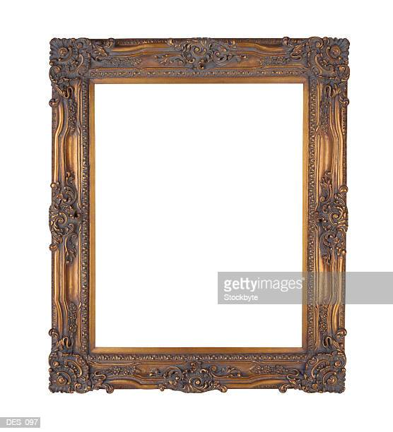 Ornate picture frame, front view